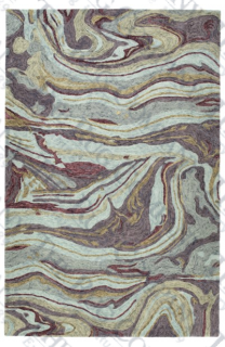 Marble Aubergine (5x7'9 or larger pattern)