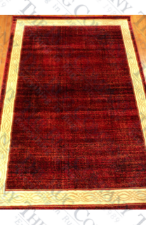 "Berry Border Rug (5'3""x7'7"")"