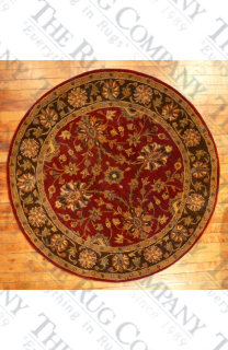 Empire Red/Brown (4' round)