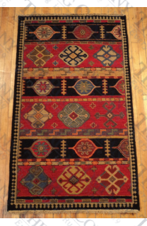 Kazak Soumak Red (3'x5')