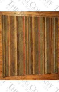 "Natural Stripe (3'9"" square)"