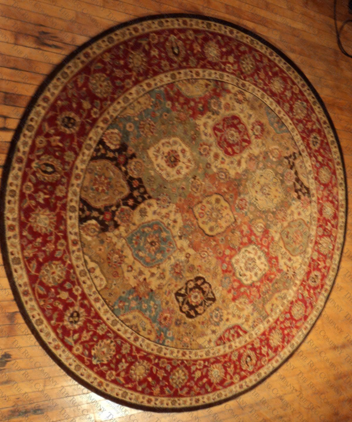 """Treasures Multi Panel (5'10"""" round)"""