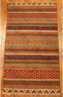 Sumak Multi Stripe (3'x5')