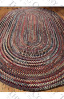 Wool Chenile Blue Mix (7'x9')